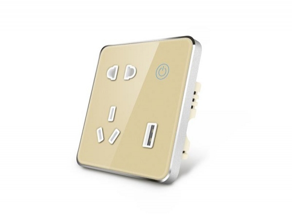 Chinese type in wall outlet available for market now